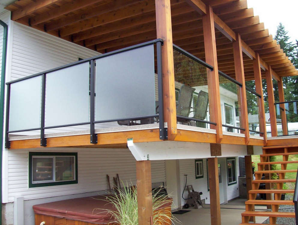 Railings Castle Deck Amp Aluminum Products Vancouver Island